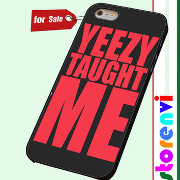 yeezy taught me custom case for smartphone case