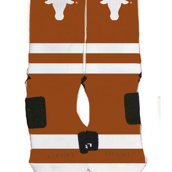 Texas Longhorns Custom Nike Elite Socks