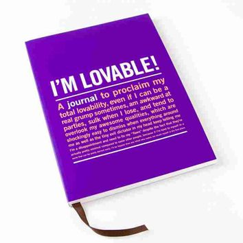 I'm Loveable Large Journal