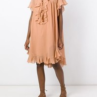 Chloé Ruffle Design Dress - Loschi - Farfetch.com