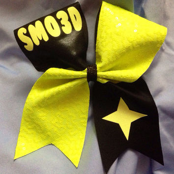 Texas cheer bow- custom