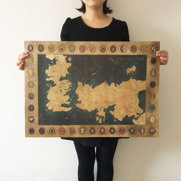 Shop Game Of Thrones Wall Decor on Wanelo