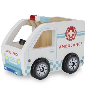 Wooden Wheels Ambulance