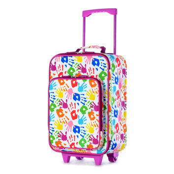 """Playday Collection 19"""" Carry-On Luggage In Hand"""