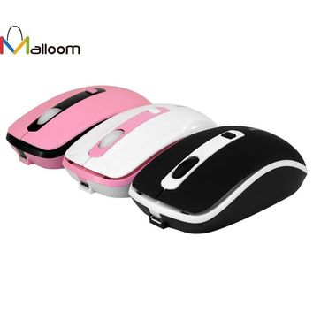 1600 DPI 4D Buttons LED Optical Wireless Gaming Mouse
