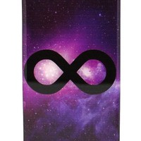 Galaxy Infinity Galactic Sky - iPhone 4 4S Snap On Case Clear Plastic Milkyway Stars