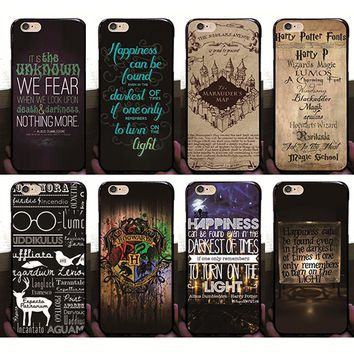 For Apple iPhone 6 6s case The Harry Potter hard PC cover for funda iPhone 6  case 2016 new arrivals coque for  iPhone 6 6S