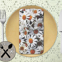 Daisy Flower Bush Cute Photography Yellow White Custom Rubber Tough Phone Case For The iPhone 4 and 4s and iPhone 5 and 5s and 5c