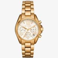 Mini Bradshaw Gold-Tone Watch | Michael Kors