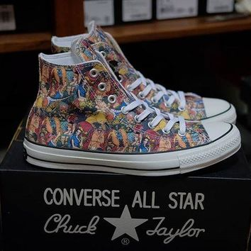 "One Piece x Converse All Star 100 HI High Top ""One Piece"" Sneaker 1CK827"