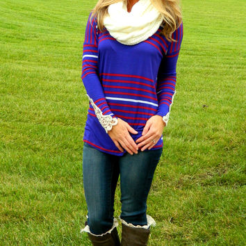 Striped with Love Top