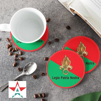 Legio Patria Nostra Round Coasters (Set of 4 coasters)