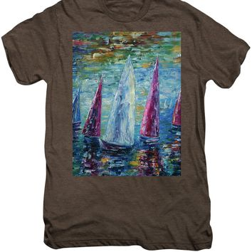 Sails To-night - Men's Premium T-Shirt