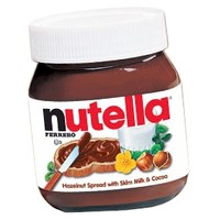 Nutella Hazelnut Chocolate Spread 26.5-Ounce Jars: 2-Piece Pack