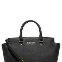 MICHAEL Michael Kors 'Large Selma' Zip-Top Satchel