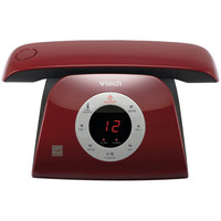 Vtech Retro Duplex Handset Speakerphone With Caller Id And Call Waiting (red)