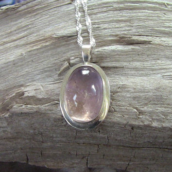 Ametrine(Amethyst, Citrine)Necklace Sterling Silver