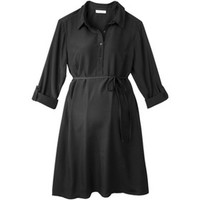 Merona® Maternity Rolled-Sleeve Shirt Dress - Assorted Colors