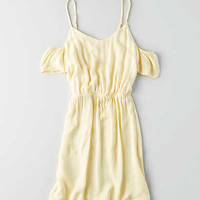 Don't Ask Why Cold Shoulder Dress, Yellow