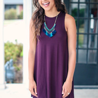 Number One Dress - Maroon
