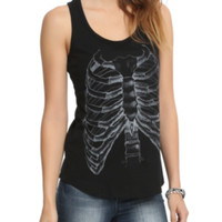 Rib Cage X-Ray Girls Tank Top