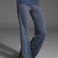 SPLENDID Melange Jersey Pant in Denim at Revolve Clothing - Free Shipping!
