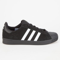 Adidas Superstar Vulc Adv Mens Shoes Black  In Sizes