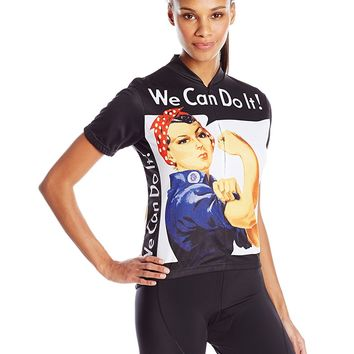 Rosie the Riveter Women's Cycling Jersey