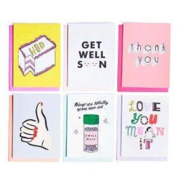 Hey Girl Hey Greeting Cards - Set of 18
