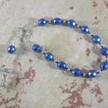 Nike (Victory) Pocket Prayer Beads: Greek Goddess of Victory, in Contests and in Battles