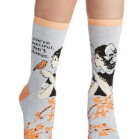 ModCloth Boho Sing Your Praise Socks