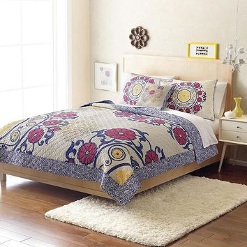 Home Classics Statements Brooklyn Reversible Quilt - Twin