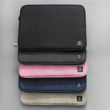 Think about W simple 13 inches laptop pouch case