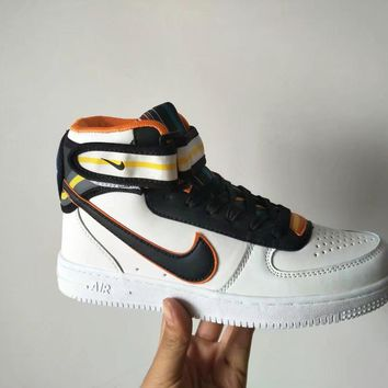 """Nike Air Force 1 x Givenchy"" Unisex Sport Casual High Help Shoes Sneakers Couple Plat"