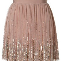 Lipsy Sequin Detail Tutu Skirt - Lipsy