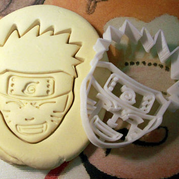 Naruto Cookie Cutter - Made from Biodegradable Material
