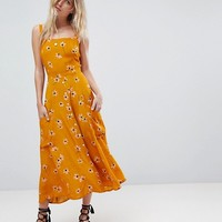 Faithfull Bloom Pocket Midi Dress at asos.com