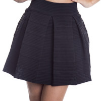 Brocade Elastic Circle Skirt