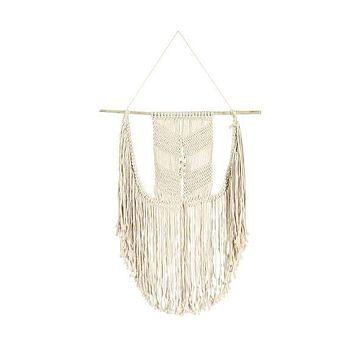 "SOUL OF THE PARTY 23"" X 31"" MACRAME WALL HANGING"