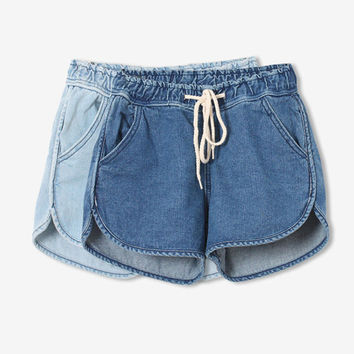 2016 New Arrival Fashion Brand Summer Women Shorts Loose Cotton Short Casual female Slim High Waist Denim Shorts Pure C1085