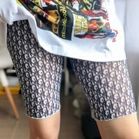 DIOR Fashion New More Letter Print Women Leisure Safety Shorts 2#