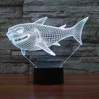 Nemo Shark 3D LED Lamp