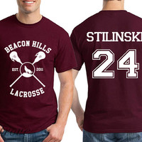Stilinski 24 Beacon Hills Lacrosse Teen Wolf Unisex Shirt - RT14