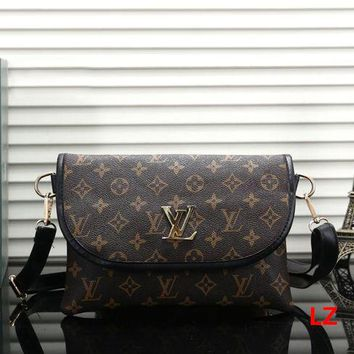 Louis Vuitton LV 2018 New Classic Monogram Female Shoulder Bag Messenger Bag