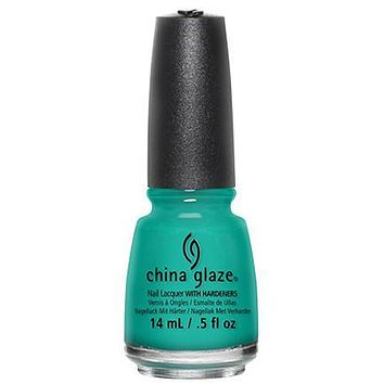 China Glaze - Turned Up Turquoise 0.5 oz - #70345