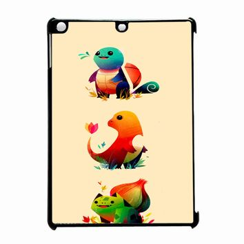 Cute Pokemon Starters 2 iPad Air Case