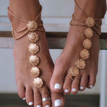 Ladies Jewelry New Arrival Gift Cute Sexy Shiny Stylish Accessory Tassels Anklet [521518972982]