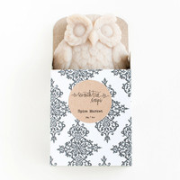 Chai & Vanilla Owl Soap - Natural, Handmade, Cold Processed, Vegan.