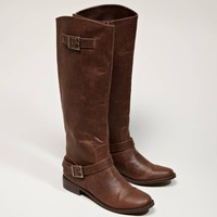 AEO Buckled Riding Boot | American Eagle Outfitters