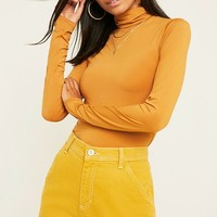UO Second Skin Funnel Neck Top | Urban Outfitters